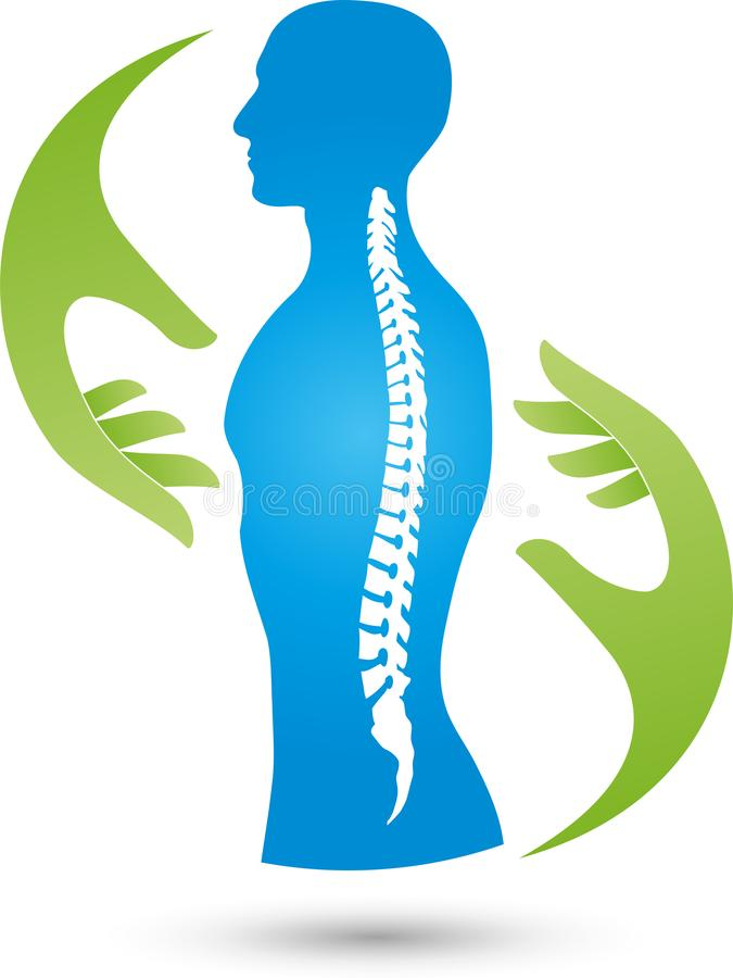 orthopedic logo physiotherapy logo spine line medicine logo naturopath massage logo orthopedics physiotherapy person 109045733 1